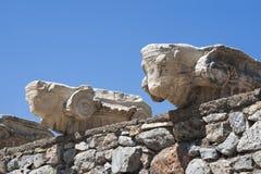 Alte Ruinen in Ephesus die Türkei Stockbilder