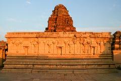 Alte Ruinen im hampi Indien Stockfotos