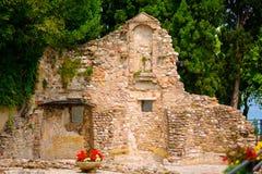 Alte Ruinen in Italien Stockbild