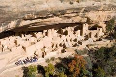 Alte Ruinen, MESA Verde, Kolorado Stockbild