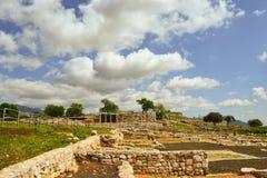 Alte Ruinen in Norba stockfoto
