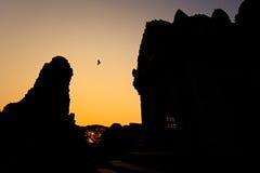 Alte Ruinen in nordöstlichem Thailand Lizenzfreie Stockfotos