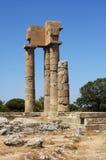 Alte Ruinen - Rhodos, Griechenland Stockbilder