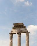 Alte Ruinen in Rom Stockfoto