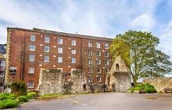 Alte Ruinen in Southampton - Hampshire lizenzfreie stockbilder