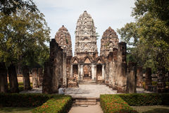 Alte Ruinen in Thailand Lizenzfreies Stockfoto