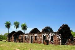 Alte Ruinen in Trinidad Stockbild