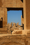 Alte Ruinen von Ägypten lizenzfreie stockbilder