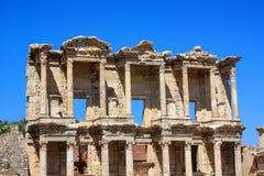 Alte Ruinen von Ephesus in der Türkei Stockbild