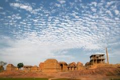 Alte Ruinen von hampi in Indien Stockbilder