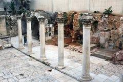 Alte Ruinen von Jerusalim, Israel Lizenzfreie Stockfotos