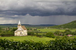 Alte rumänische Kirche Stockfotografie