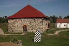 Alte russische Festung u. x22; Korela& x22; Lizenzfreie Stockbilder