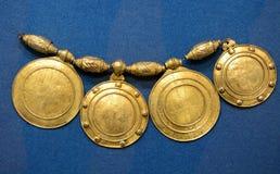 Alte russische Halskette Stockbild