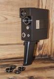 Alte russische Kamera und Filter Stockbild