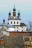 Alte russische Kathedrale Stockfotografie