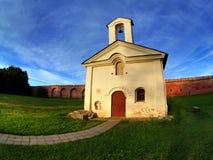 Alte russische Kirche stockfotografie