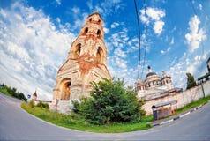 Alte russische Kirche Stockfotos