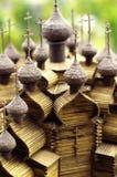 Alte russische Kirche in der Miniatur Lizenzfreies Stockbild