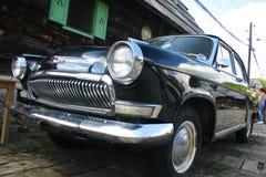 Alte russische Limousine Stockfotos