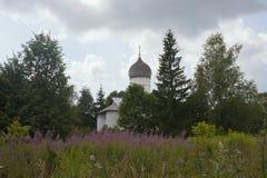 Alte russische orthodoxe Kirche Stockbild