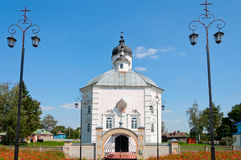 Alte russische orthodoxe Kirche in Starodub Russland stockfotografie