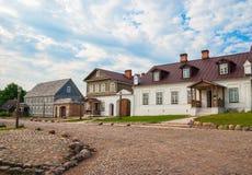 Alte russische Stadt Lizenzfreie Stockfotografie
