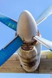 Alte russische Turboprop-Triebwerk Flugzeuge Stockbilder