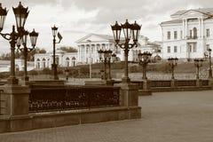 Alte Russland-Stadt Stockfotos