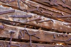 Alte rustikale Werkzeuge Lizenzfreie Stockbilder