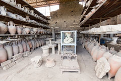 Alte rzymianin pompei fotografia stock