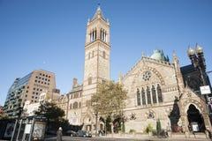 Alte Südkirche, Copley-Quadrat, Boston Stockfotografie