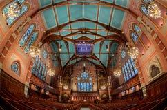 Alte Südkirche von Boston Stockfotografie