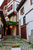 Alte Safranbolu-Häuser Stockfotografie
