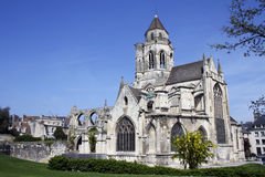Alte Saint-Etiennekirche Lizenzfreie Stockfotos