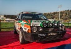 Alte Sammlung Rennwagens 1984 FIAT RITMOS ABARTH 130 DIE LEGENDE 2017 das berühmte historische Merinorennen SANS Stockfotos