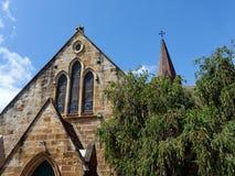 Alte Sandsteinkirche Stockbilder