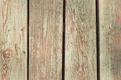Alte schäbige hölzerne Planken Stockfoto