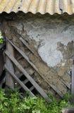 Alte schäbige Wand Lizenzfreies Stockbild