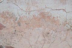 Alte schäbige Wand als Hintergrund, graue Beschaffenheit Stockfotografie