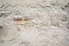 Alte schädigende Betonmauer Stockfotos