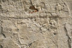 Alte schädigende Betonmauer Lizenzfreies Stockbild