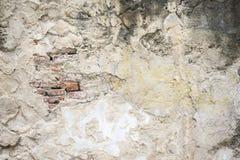 Alte schädigende Betonmauer Stockfotografie