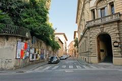 Alte schöne nette Straße in Parma Italien Stockfotografie