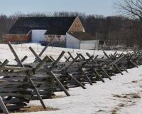 Alte Scheune Gettysburg Lizenzfreies Stockbild