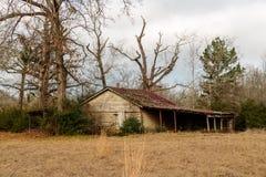 Alte Scheune in Ost-Texas Stockfotografie