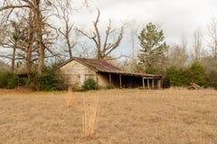 Alte Scheune in Ost-Texas Lizenzfreies Stockbild