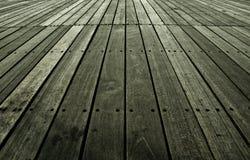 Alte Scheunen-Holzfußboden-Hintergrund-Beschaffenheit Lizenzfreies Stockfoto