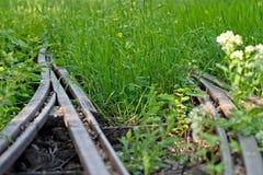 Alte Schiene Stockfotos