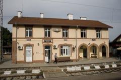 Alte Schienenstation Stockbilder